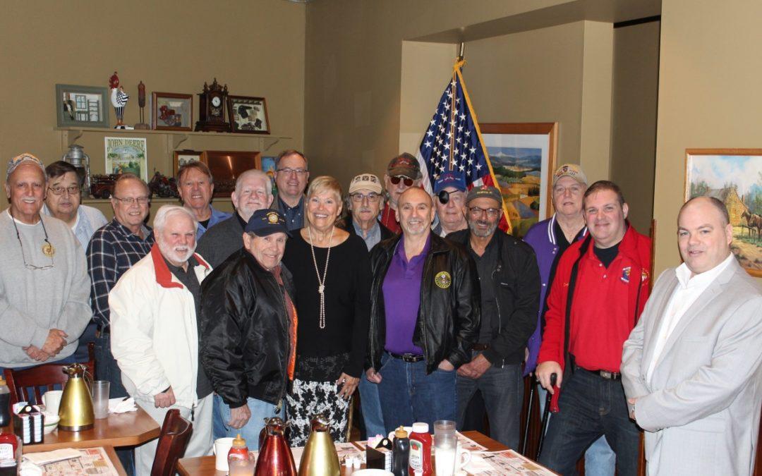 Bulldogs attend Hunterdon County Veteran Organization Leaders roundtable Breakfast
