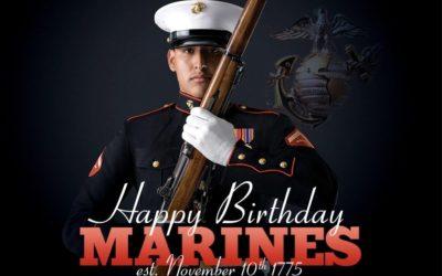 Bulldogs Host 244th Marine Corps Birthday Dinner Nov 10th